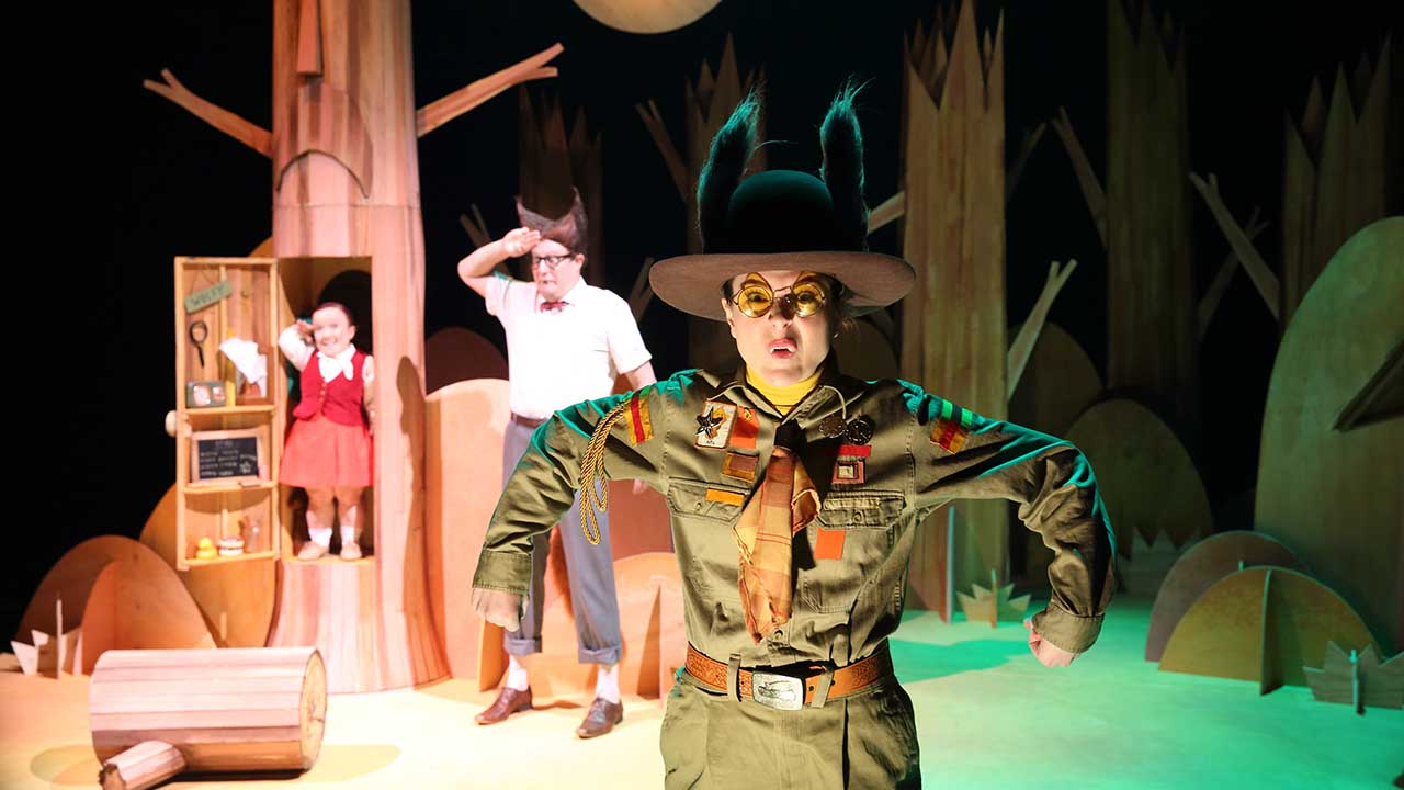 9. Big Bad Wolf. L-R Emma J Hawkins, Patrick Graham, Kate Cheel. Photo by Tony Lewis