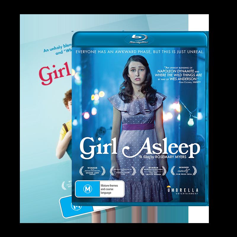 Girl Asleep Dvd and BluRay